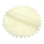 B1259CM Starburst Rounds: 22.5cm: Pack of 100: Cream